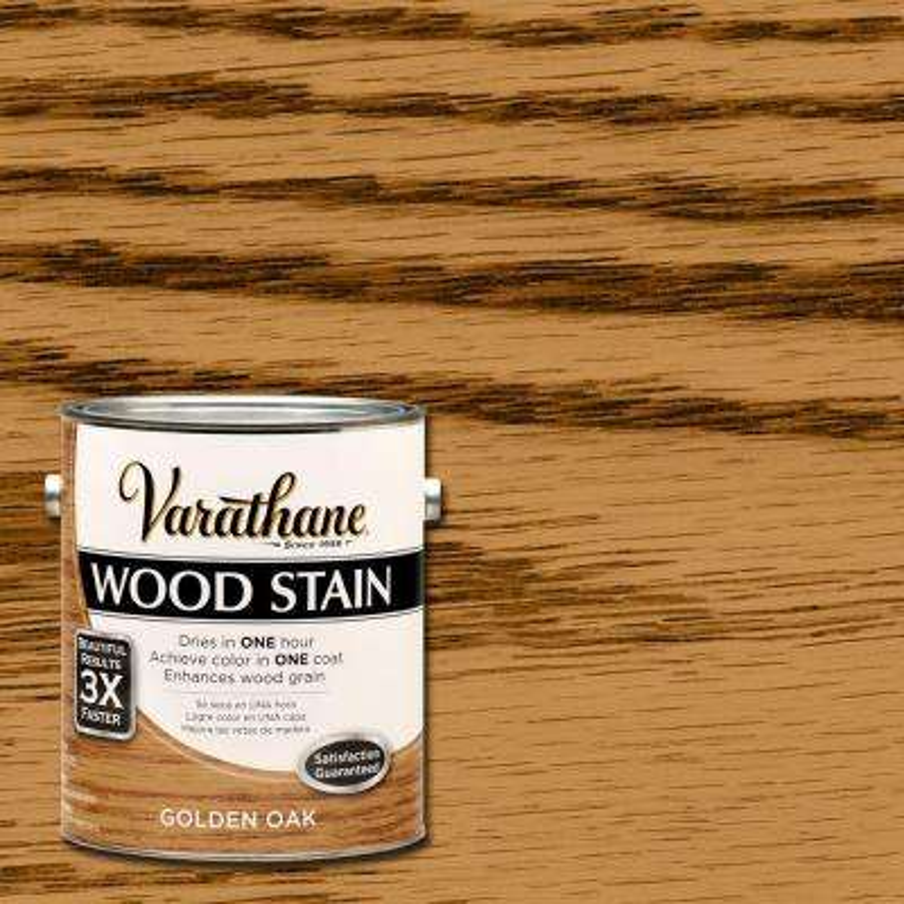 1 gal. Golden Oak Premium Wood Interior Stain (Case of 2)