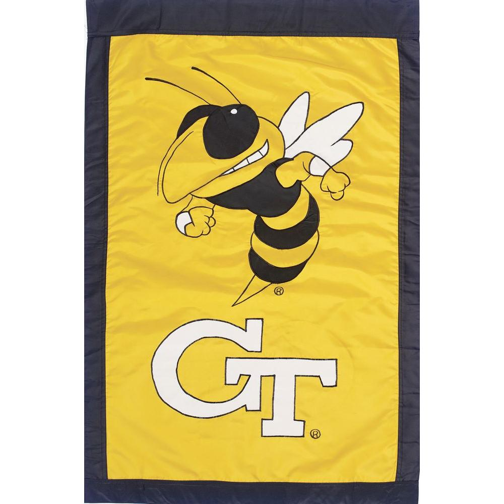 NCAA 28 in. x 44 in. Georgia Tech 2-Sided Flag