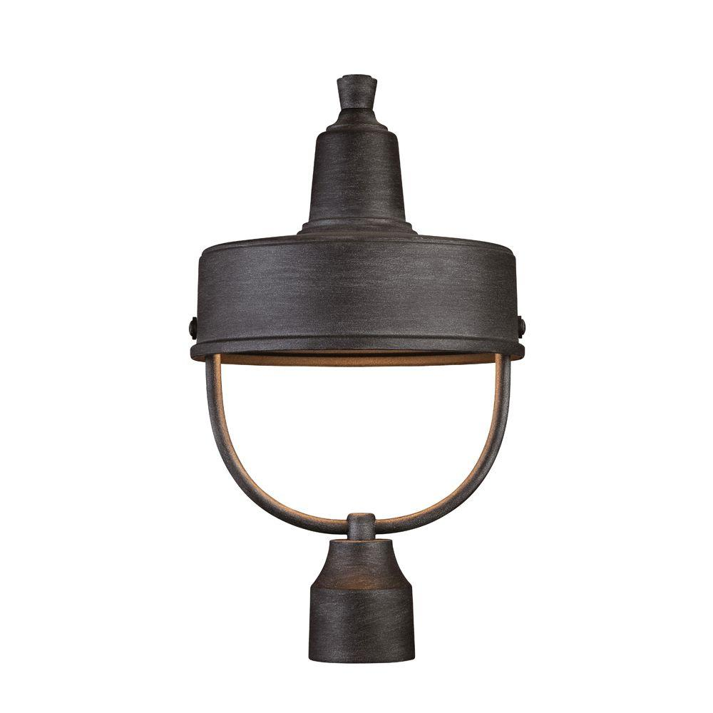 Designers fountain portland ds 1 light weathered pewter outdoor designers fountain portland ds 1 light weathered pewter outdoor incandescent post lantern aloadofball Image collections