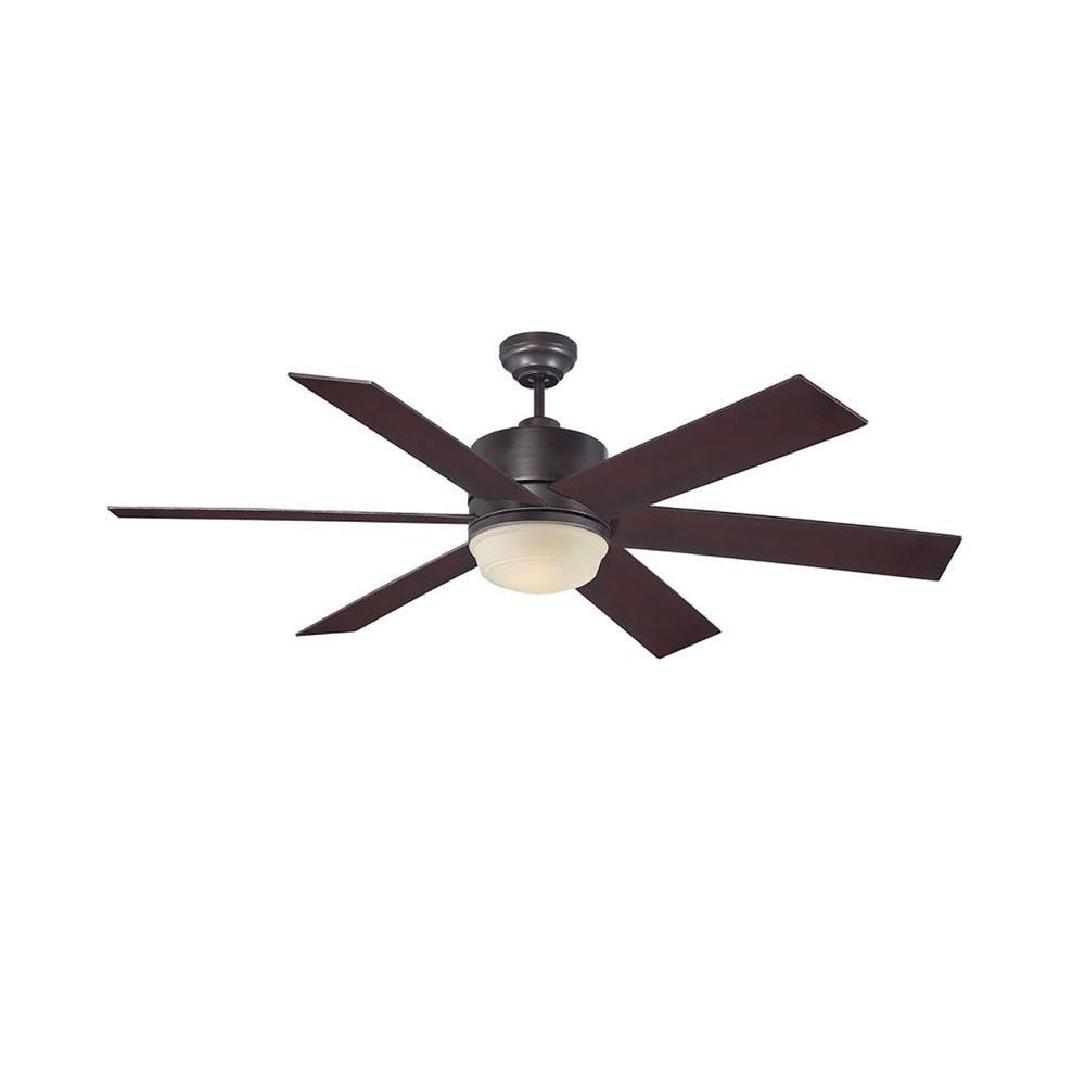 Cariolis 60 in. English Bronze Indoor/Outdoor Ceiling Fan