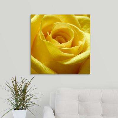 """Yellow Rose"" by PhotoINC Studio Canvas Wall Art"