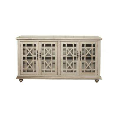 Marche Antique Silver Home Entertainment Center