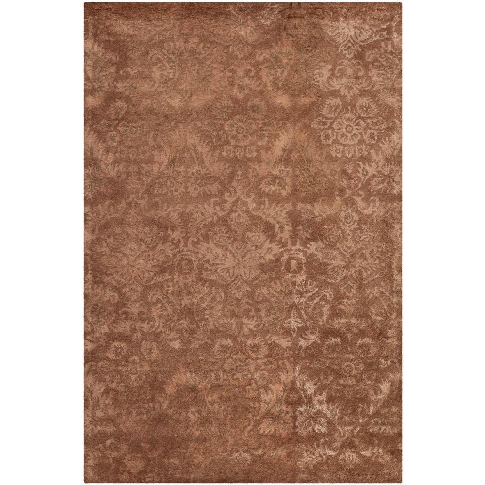 Safavieh Damask Mahogany 9 ft. 6 in. x 13 ft. 6 in. Area Rug