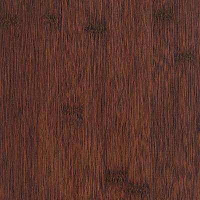 Wire Brushed Auburn Bamboo 6 mm x 7-1/16 in. Width x 48 in. Length Vinyl Plank Flooring (23.64 sq.ft/case)