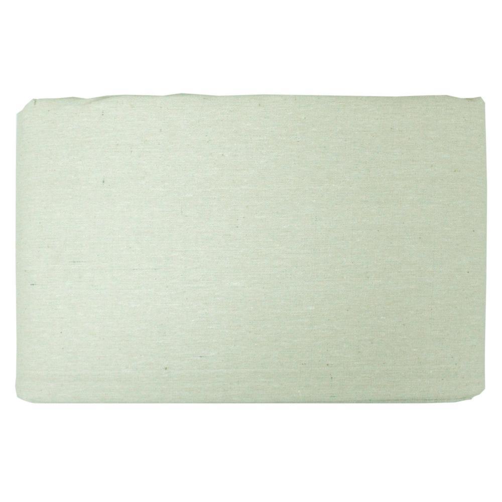 5 ft. x 5 ft. Leak Proof Plastic Back Canvas Drop Cloth (12-Pack)