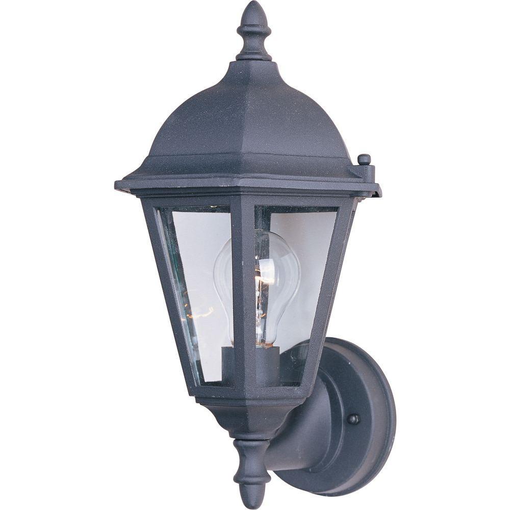 Westlake 1-Light Black Outdoor Wall Lantern Sconce