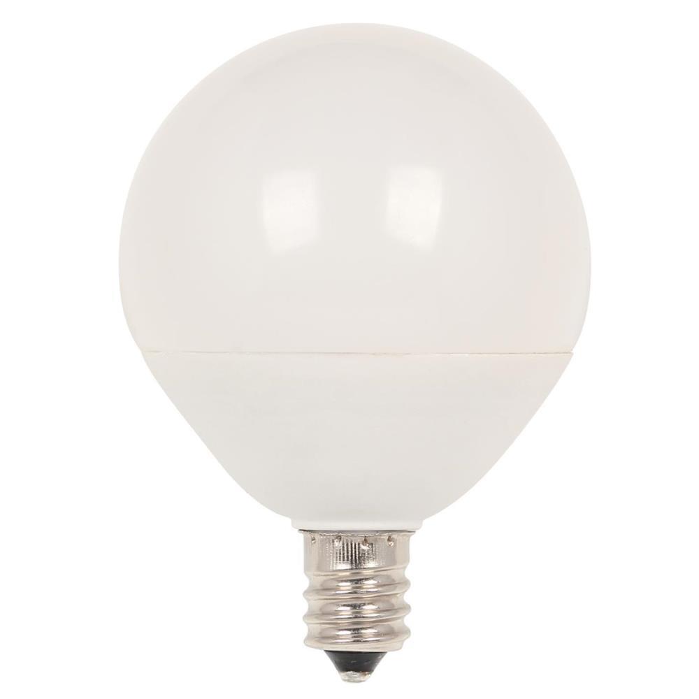 Westinghouse 40w Equivalent Soft White G25 Dimmable: Westinghouse 60-Watt Equivalent G16-1/2 Dimmable LED Light