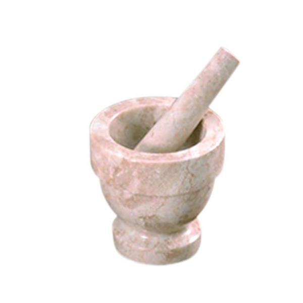 Creative Home Marble Champagne Mortar & Pestles 74070