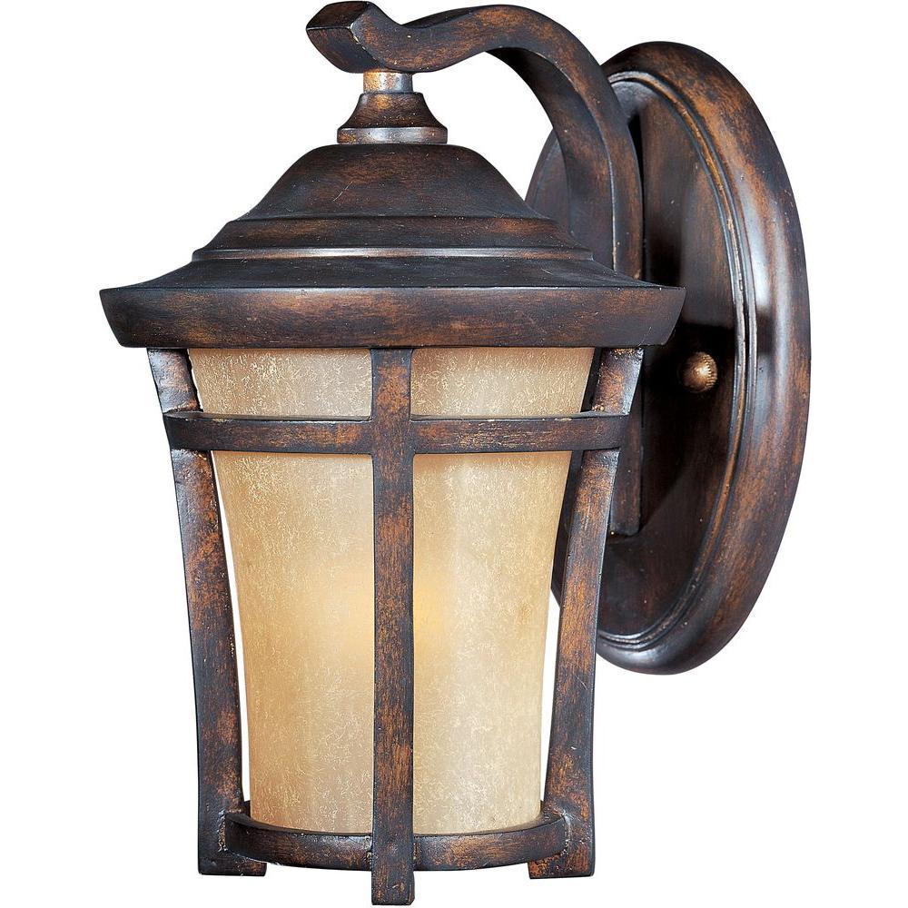 Balboa Vivex Energy Efficient 1-Light Copper Oxide Outdoor Wall Lantern Sconce