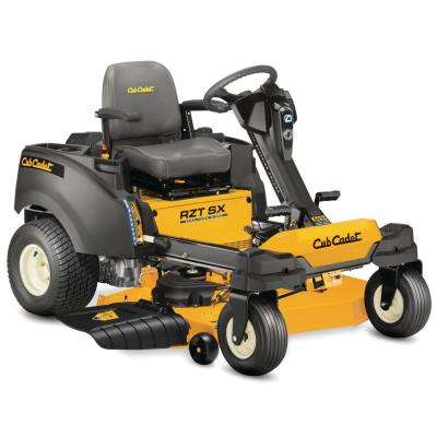 RZT-SX 46 in. Fabricated Deck 23 HP Kohler V-Twin Dual-Hydro Zero Turn Mower with Steering Wheel Control