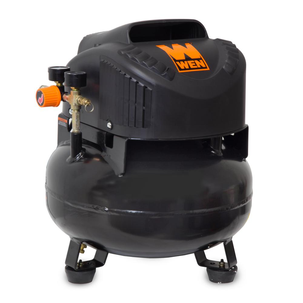 Weigh-Tronix 6 Gal. Oil-Free Pancake Electric Air Compressor