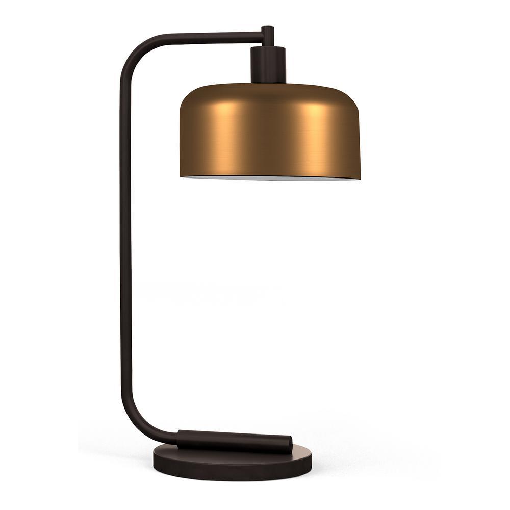 Cadmus 20.5 in. Antique Brass Table Lamp