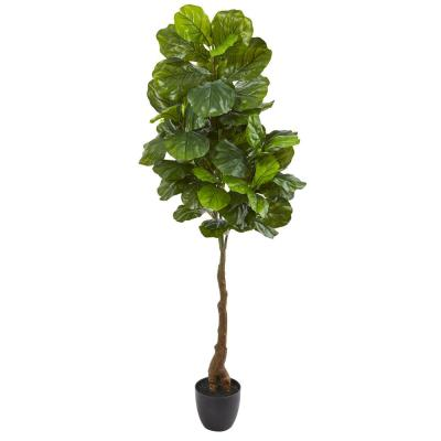 64 in. Fiddle Leaf Artificial Tree (Real Touch)