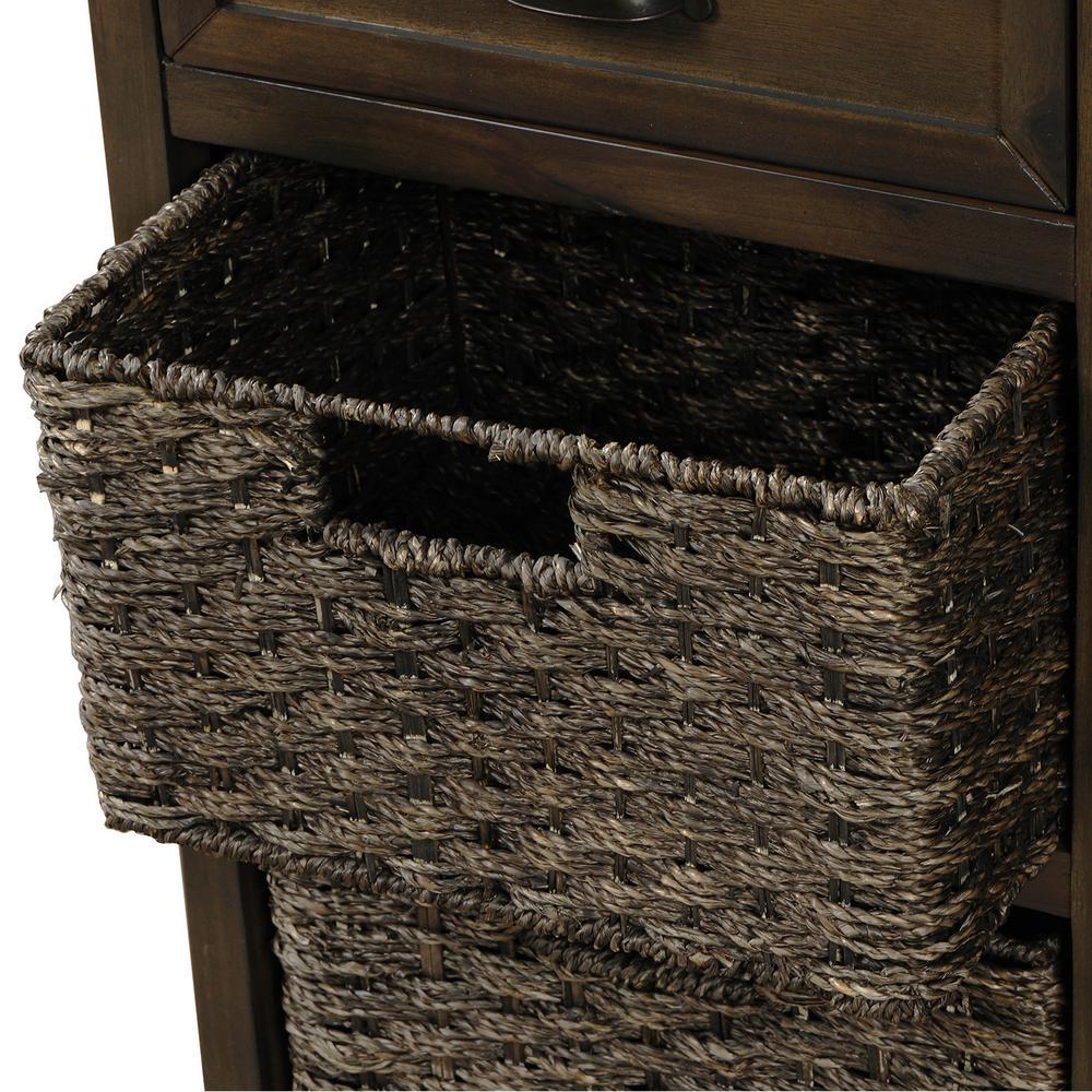 2 Baskets for Storage Cabinet