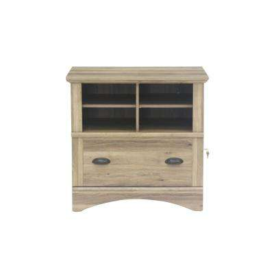 Harbor View Salt Oak Lateral File Cabinet with 1-Drawer