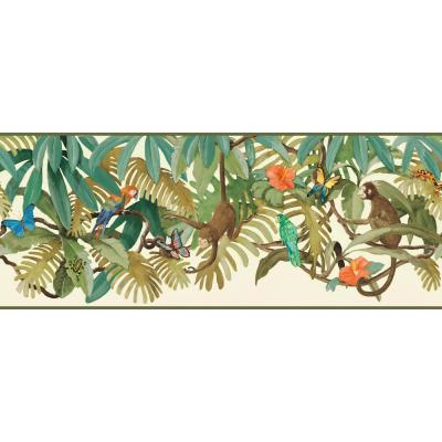 Brothers and Sisters V Up in The Treetops Wallpaper Border