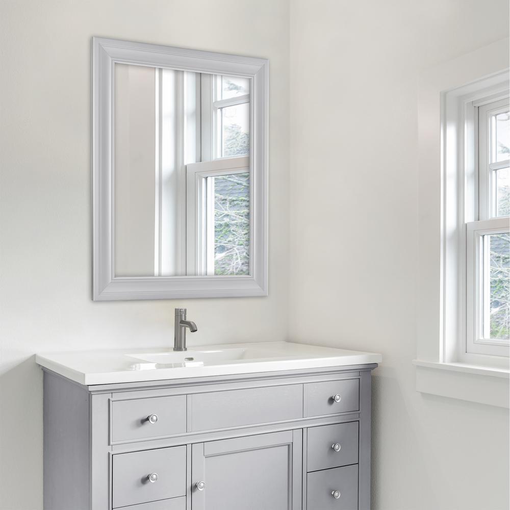 Home Decorators Collection 27 5 In W X, Anti Fog Bathroom Mirror