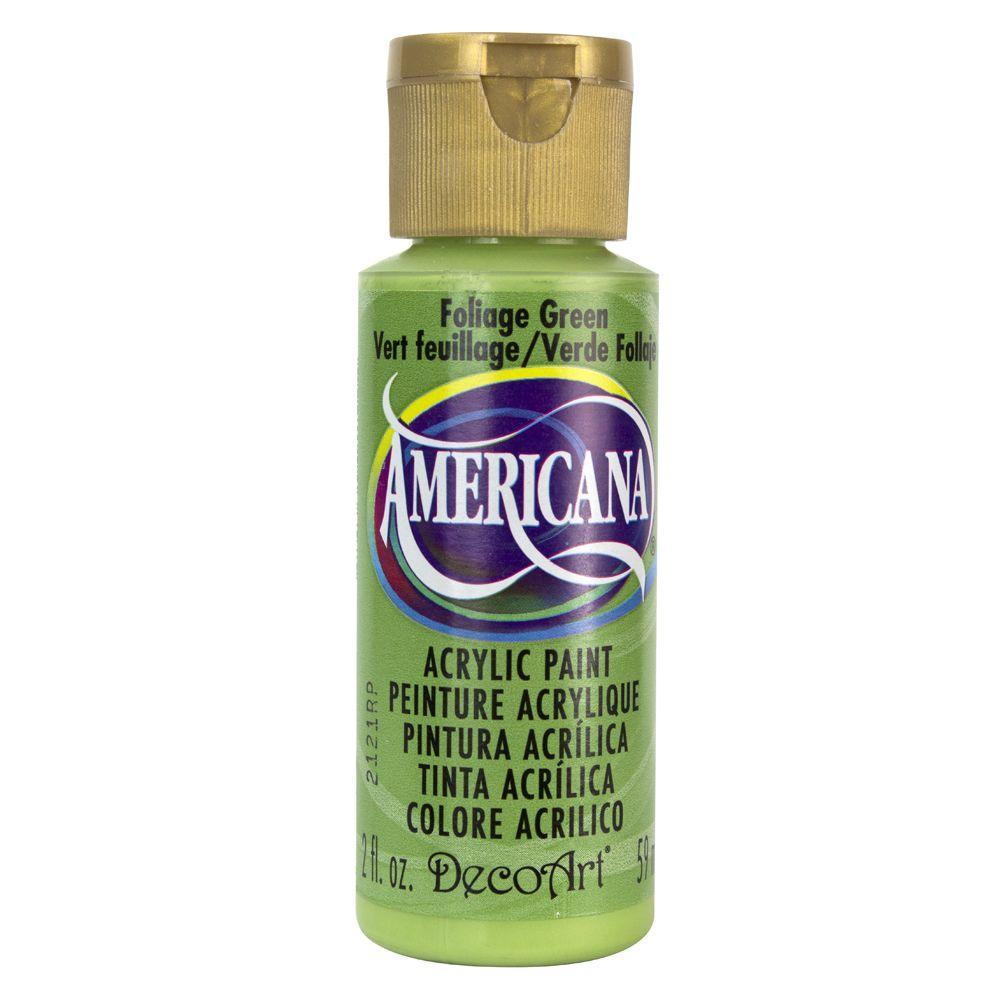 Americana 2 oz. Foliage Green Acrylic Paint