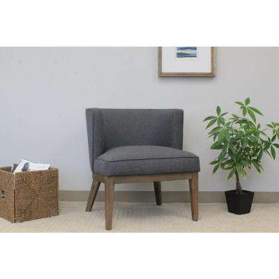 Slate Grey Ava Accent Chair