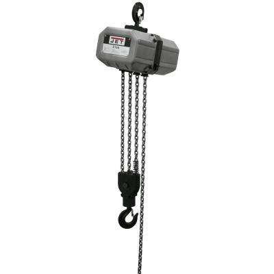 3-Ton Capacity 10 ft. Lift Electric Chain Hoist 1-Phase 115/230-Volt 3SS-1C-10