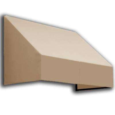 5 ft. New Yorker Window/Entry Awning (56 in. H x 36 in. D) in Tan