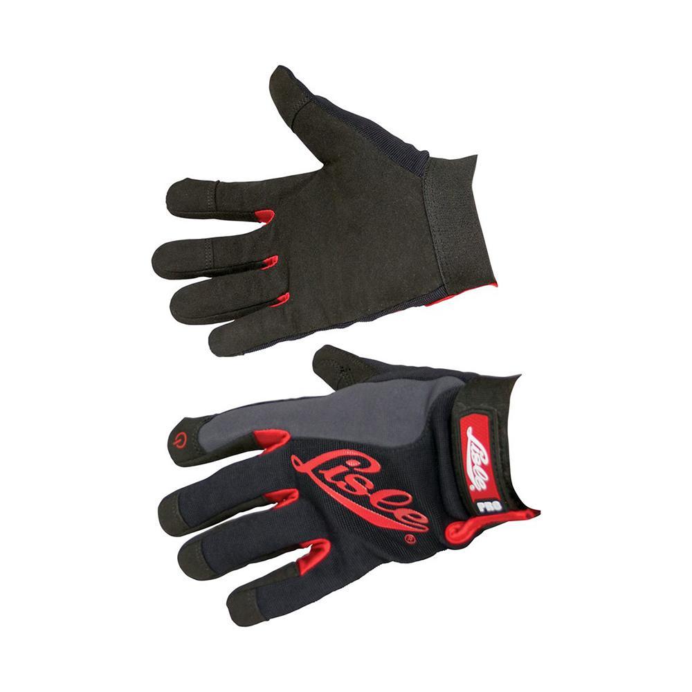 Large Black Spandex Mechanic's Gloves