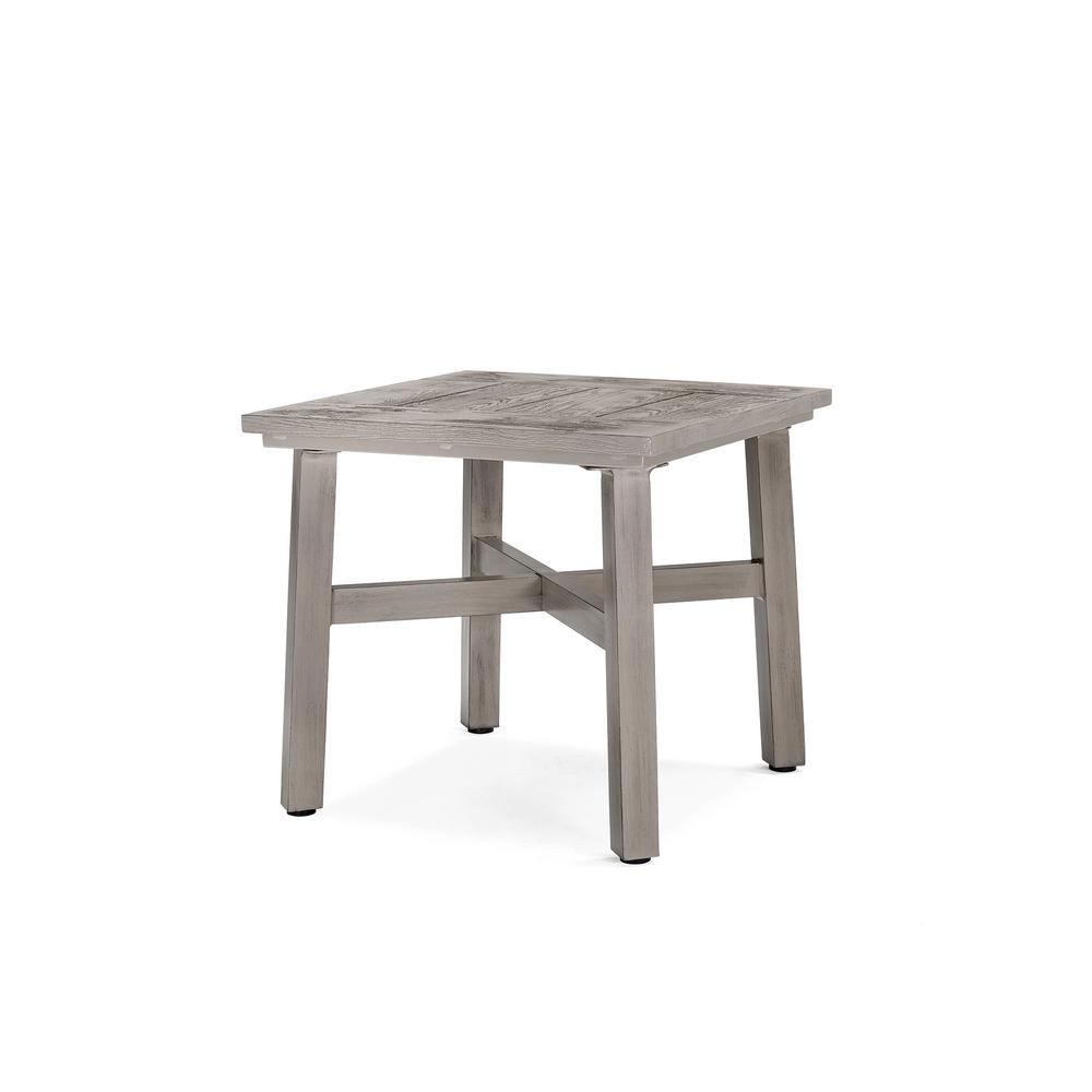 Colfax Square Aluminum Outdoor Side Table