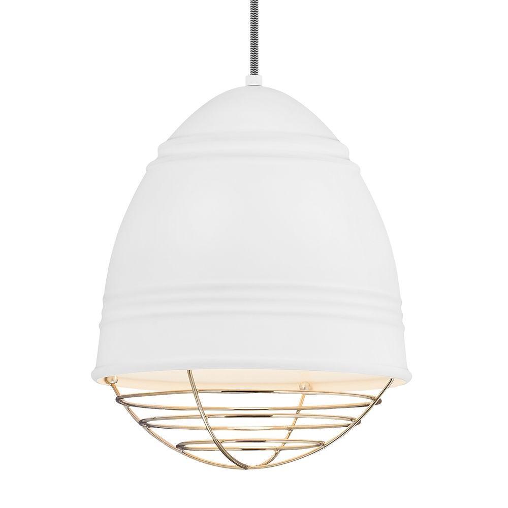 Loft White LED Line-Voltage Pendant