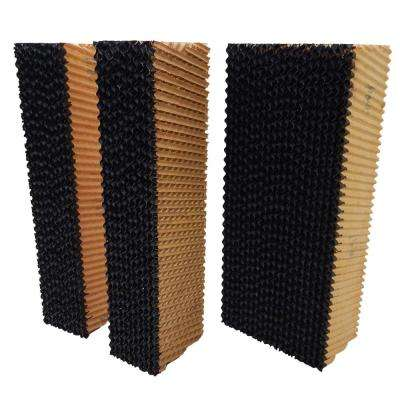 Complete Pad Set for Glacier 18 in. Evaporative Coolers 8 in. Thick Edge Coated Cooling Media