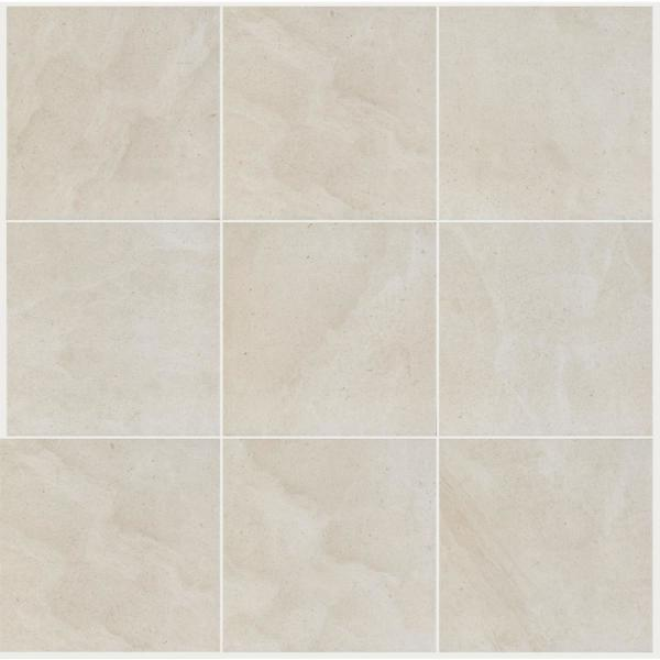 Sahara Creme 12 in. x 12 in. Porcelain Floor and Wall Tile (14.33 sq. ft. / case)