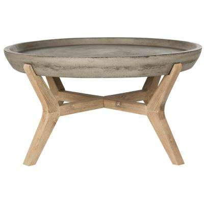 Wynn Dark Gray Wood Indoor/Outdoor Coffee Table