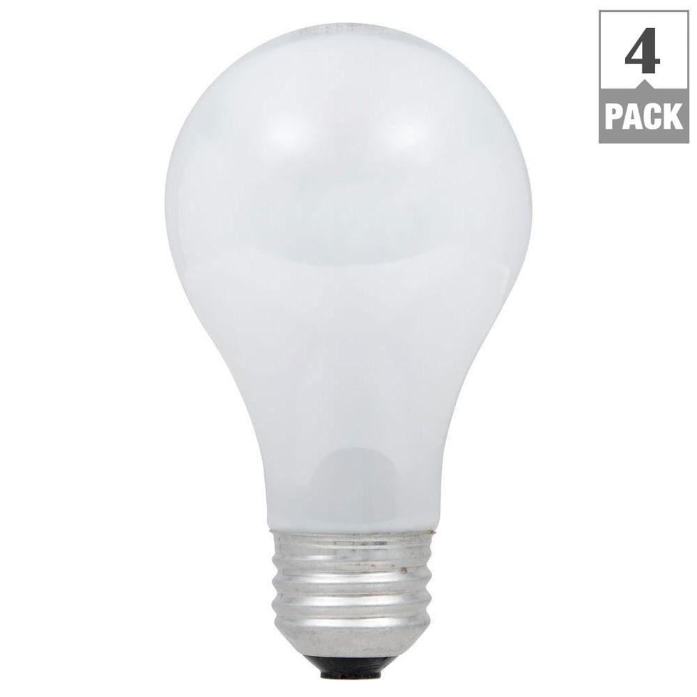 Ecosmart 40 watt equivalent eco incandescent a19 soft white dimmable ecosmart 40 watt equivalent eco incandescent a19 soft white dimmable light bulb 4 arubaitofo Image collections