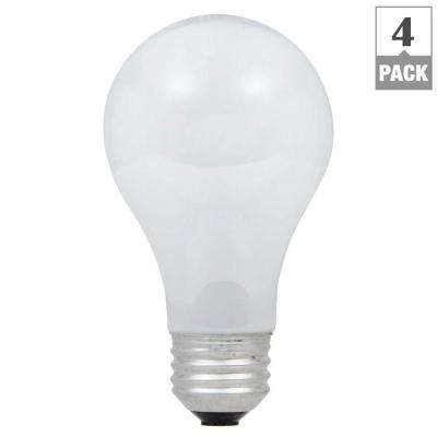 40-Watt Equivalent Eco-Incandescent A19 Soft White Dimmable Light Bulb (4-Pack)