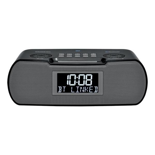 FM/AM/Bluetooth/Aux-in/USB Charging Digital Tuning Alarm Clock Radio