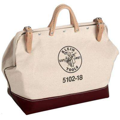 18 in. Canvas Tool Bag