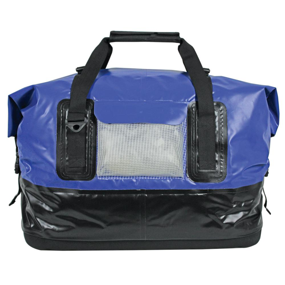 Extreme Max Large Drytech Waterproof Duffel Bag In Blue