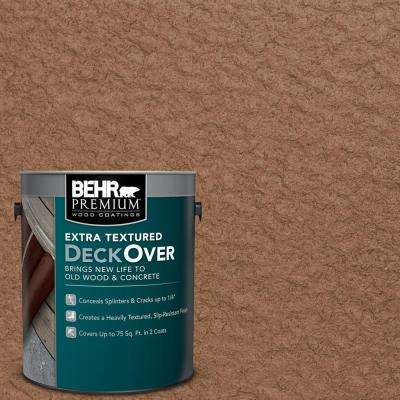 1 gal. #SC-152 Red Cedar Extra Textured Solid Color Exterior Wood and Concrete Coating