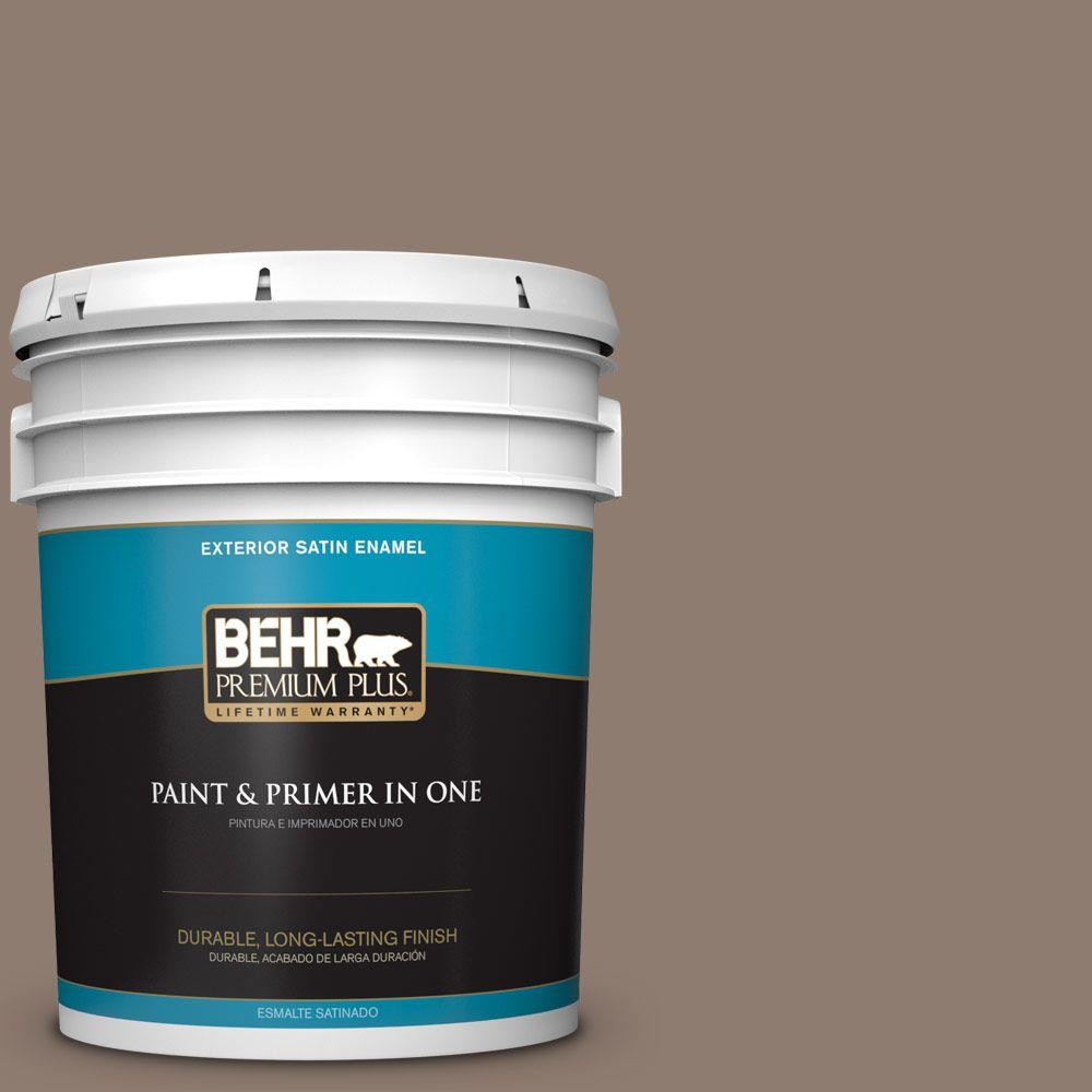 5-gal. #N180-5 Bridle Leather Satin Enamel Exterior Paint
