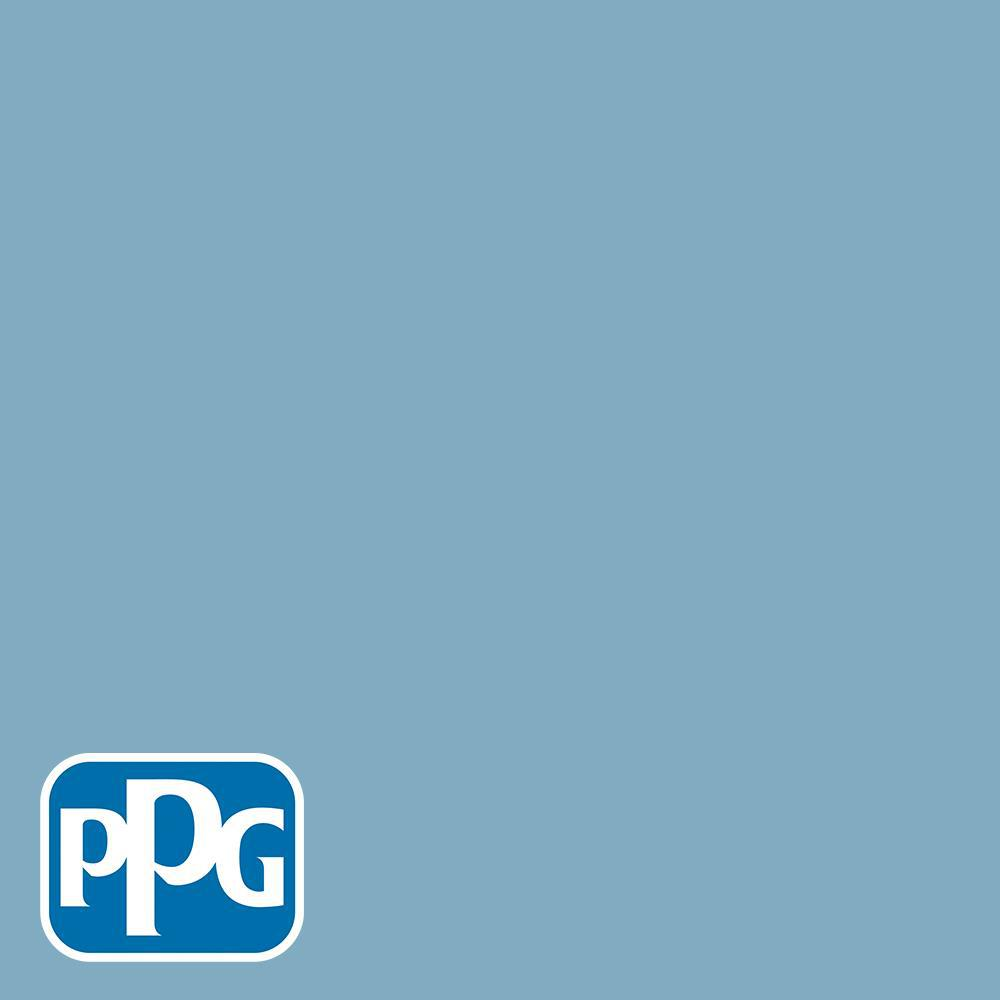 PPG Diamond 1 gal. #HDGB59 Country House Blue Semi-Gloss Interior Paint  with Primer