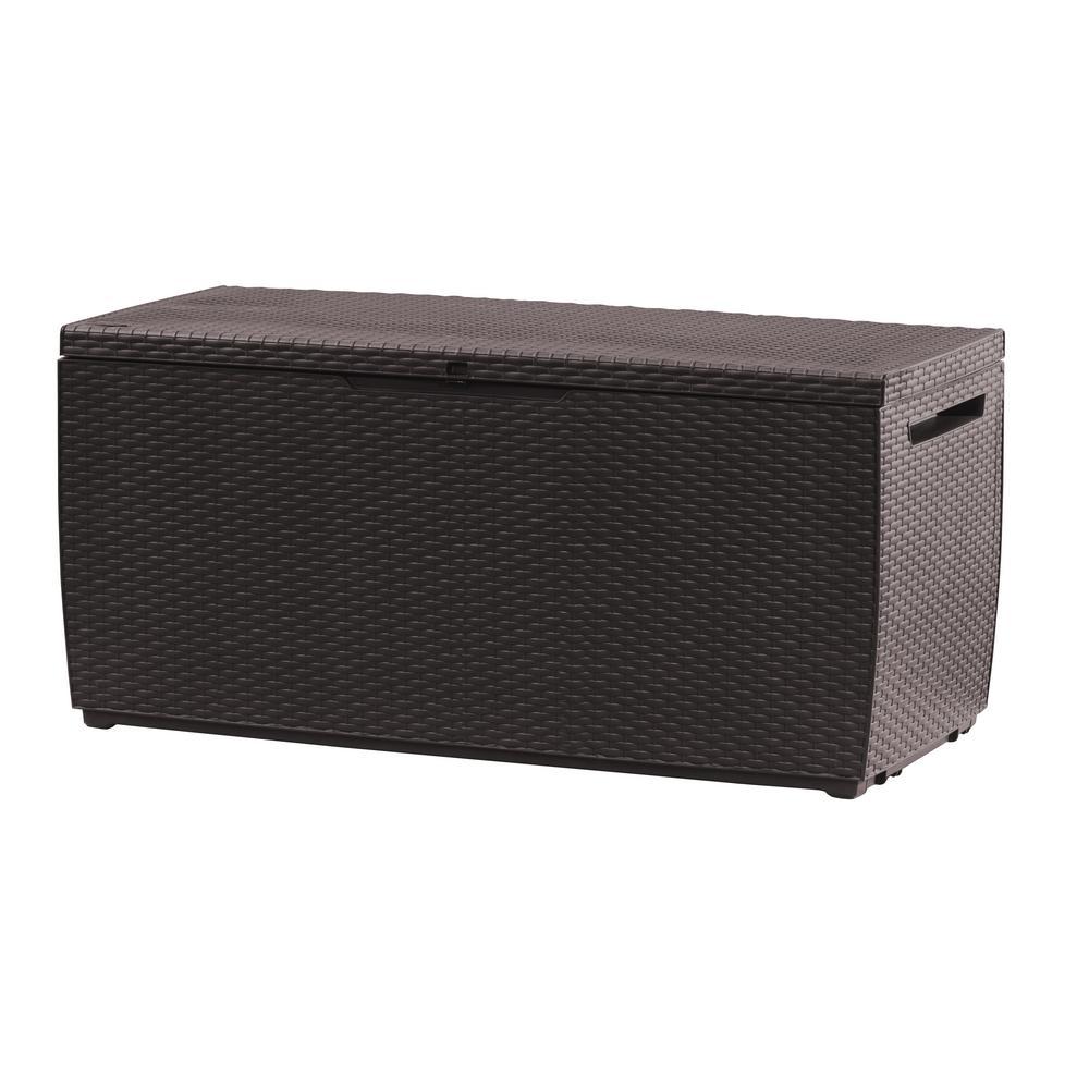 Capri 80 Gal. Resin Deck Box