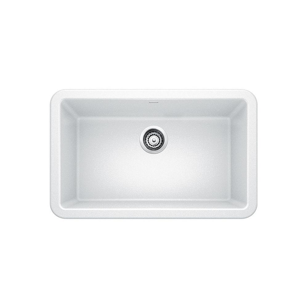 This Review Is From:IKON Apron Front Granite Composite 29 In. Single Bowl  Kitchen Sink In White