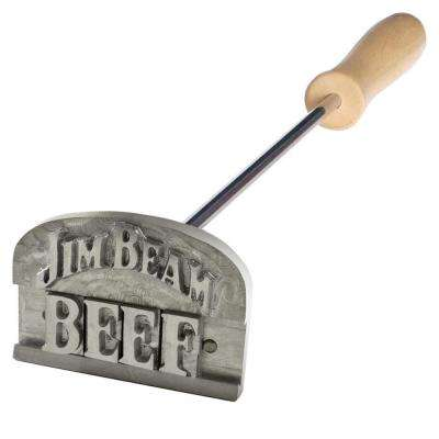 Branding Iron with Customizable Letters