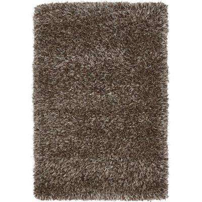 """Luxe Solo Pinecone Brown 2'2"""" x 3' Rug"""