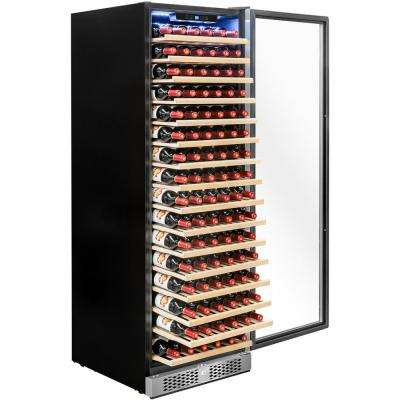 23.5 in. 171 Bottle Wine and 342-Can Built-in Compressor Beverage Cooler