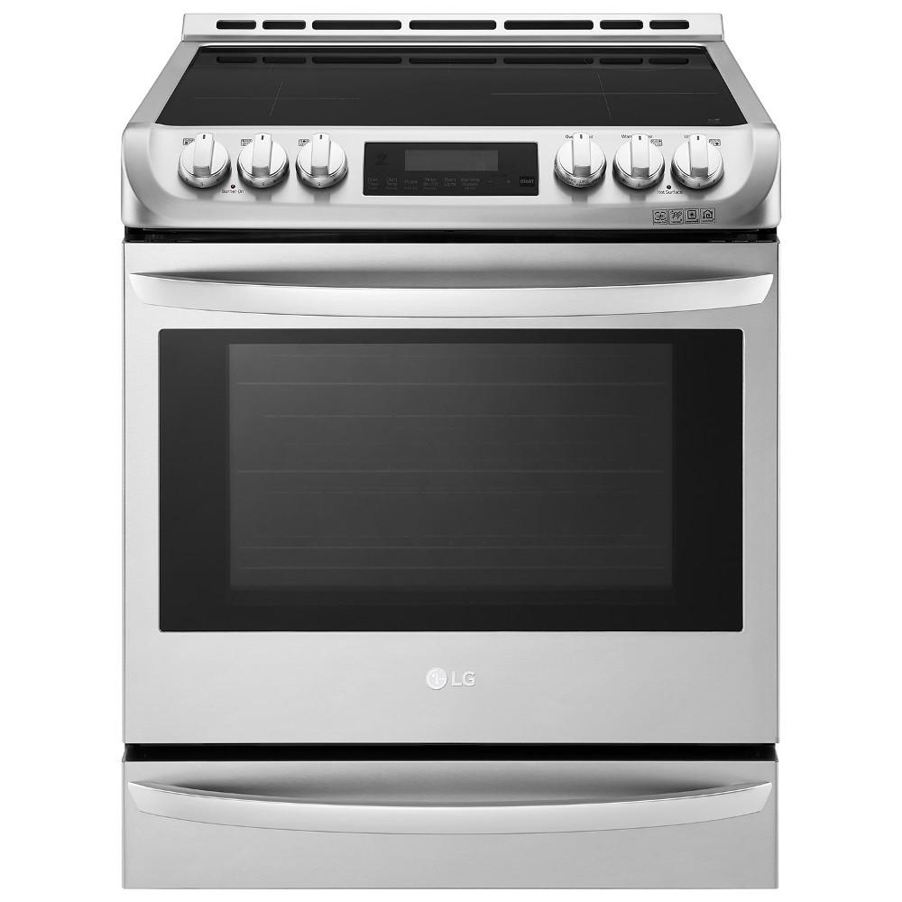 Electric Convection Oven ~ Lg electronics cu ft in slide electric range