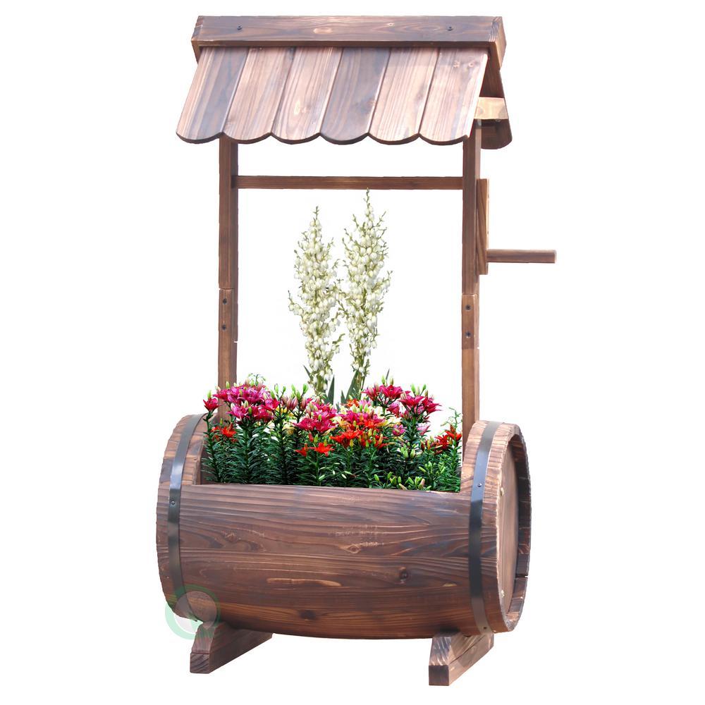 H Wood Barrel