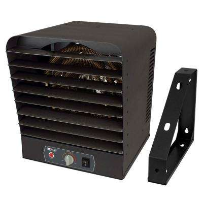 240-Volt 10000-Watt Garage Heater in Gray