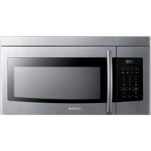 Samsung 1.6 cu. ft. Over the Range Microwave in Stainless Steel by Samsung