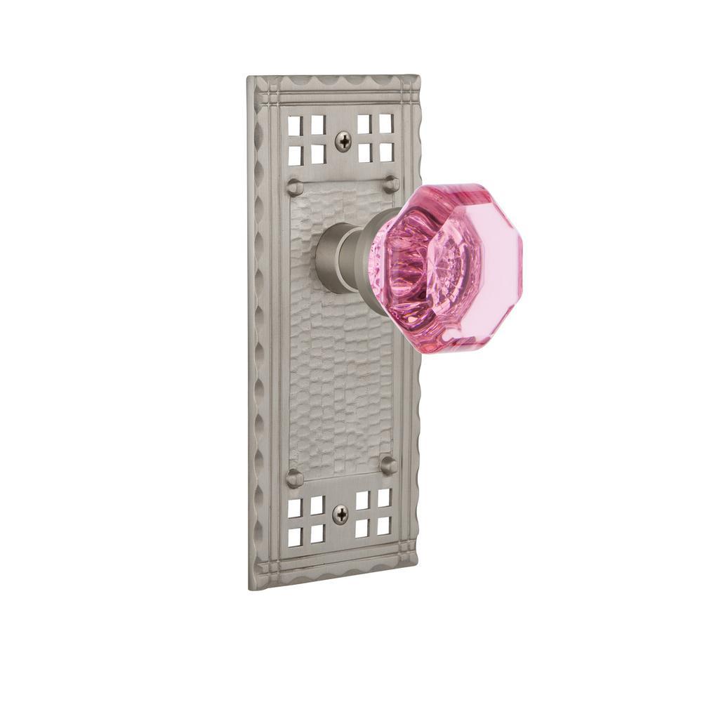 Nostalgic Warehouse Classic Rosette Single Dummy Waldorf Pink Door ...