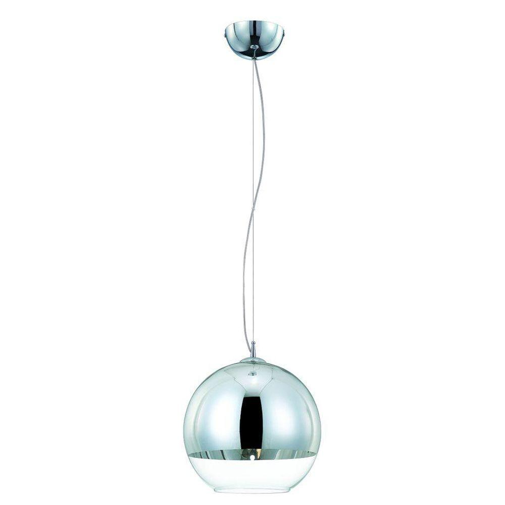 Eurofase Chromos Collection 1-Light Chrome Medium Pendant